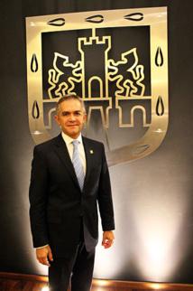 Miguel Ángel Espinosa Mancera, maire de Mexico - mai 2014 © ProtoplasmaKid sous licence creative commons.