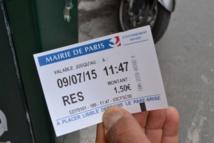 L'heure de stationnement à 1,50 euros, soit 3 fois plus qu'avant le 1er janvier 2015 © AC - PT
