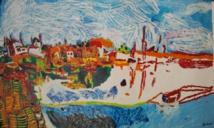 Vernissage exposition des oeuvres de l'artiste peintre Jérôme Pezzillo