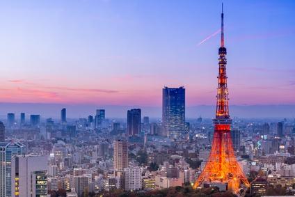 La Tour de Tokyo : Tokyo Tower © somchaij.