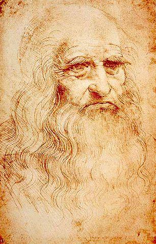 Leonardo par Léonard de Vinci — www.vivoscuola.it- Domaine public sous licence common.