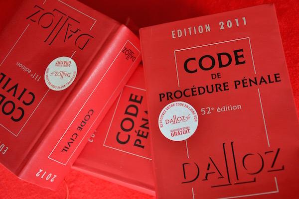 Code de procédure pénale © Paris Tribune