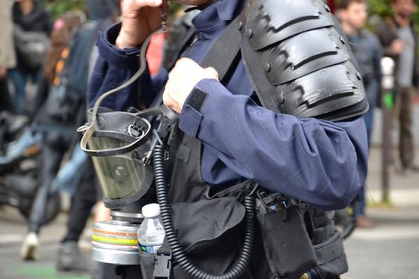 Une manifestation sans incidents majeurs © VD Paris Tribune