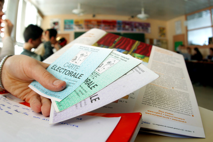 Cartes électorales © Philippe Minisini.