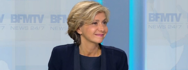 Valérie Pécresse sur BFM TV le 26 mai 2016 © BFM TV.