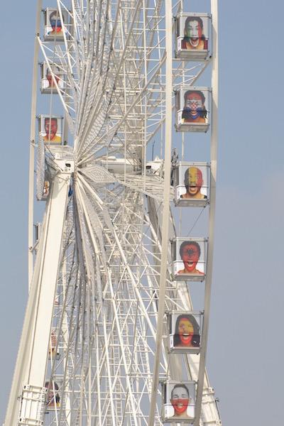 Non, la Fan Zone ne se trouve pas vers la grande roue de Paris © VD Paris Tribune.