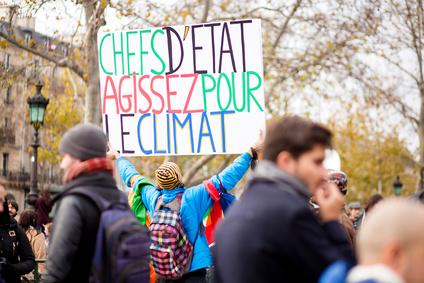 Marche pour le climat à Paris © Nastasia Froloff