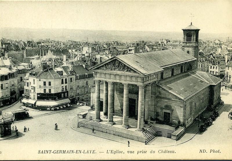 Eglise de Saint-Germain-en-Laye - domaine public.