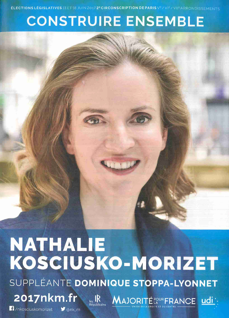 Document de campagne © Nathalie Kosciusko-Morizet