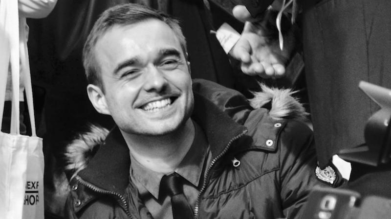Matthieu Lamarre responsable du service presse de la Mairie de Paris de mai 2014 à septembre 2016 © VD Paris Tribune.