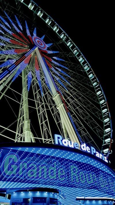 La roue de Paris - la Grande Roue de la Liberté © VD / PT