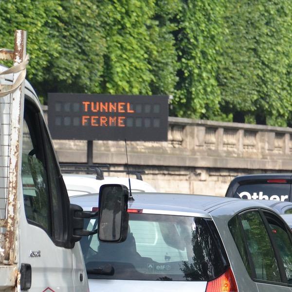 Le tunnel des Tuileries est fermé aux automobiles depuis juin 2016 et il est réservé aux cyclistes et piétons depuis janvier 2017 © Archives Paris Tribune.