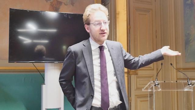 Alexandre Vesperini, Groupe Parisiens Progressistes, Constructifs et Indépendants © VD / PT.