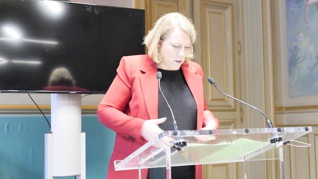 Danielle Simonnet, Groupe des élus non-inscrits © VD / PT.
