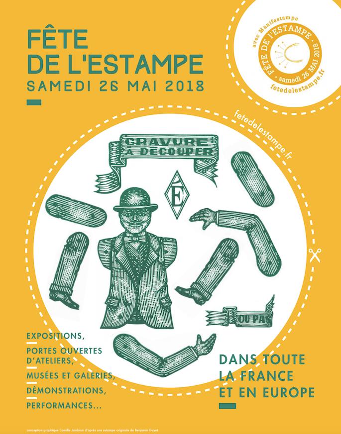 La France et Paris accueillent la 6e Fête de l'Estampe