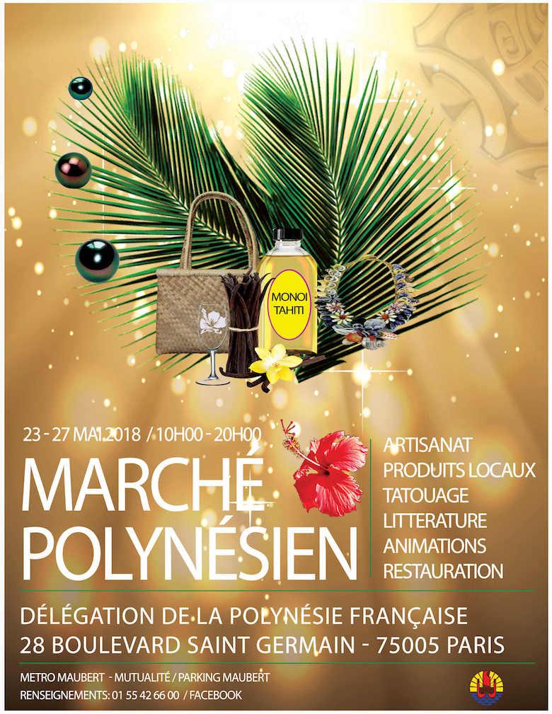 Marché polynésien 2018