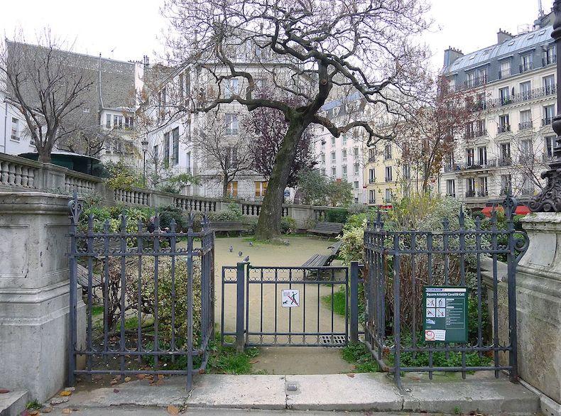 Square Aristide Cavaille Coll dans le 10e arrondissement de Paris © Mbzt CC BY-SA 4.0