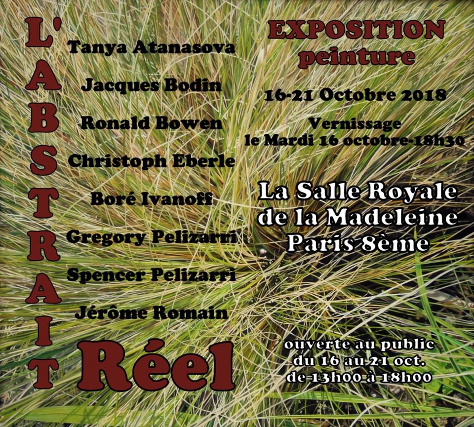 Exposition L'Abstrait Réel