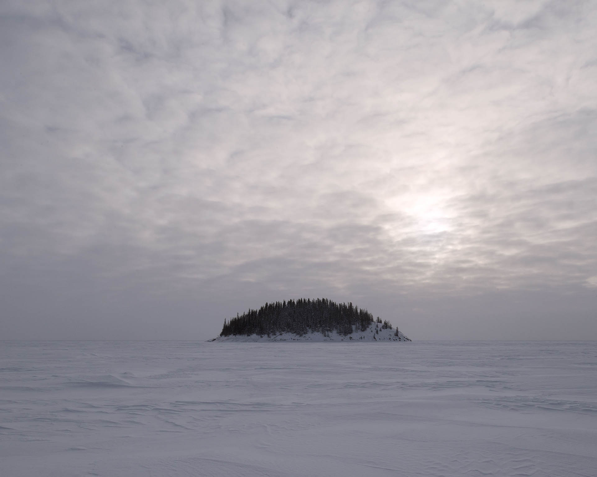 Mother Nature, Alberta, Canada January 2018, bituminous sand © Samuel Bollendorff