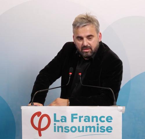 Conférence de presse de La France Insoumise le 7 février 2019 avec Alexis Corbière