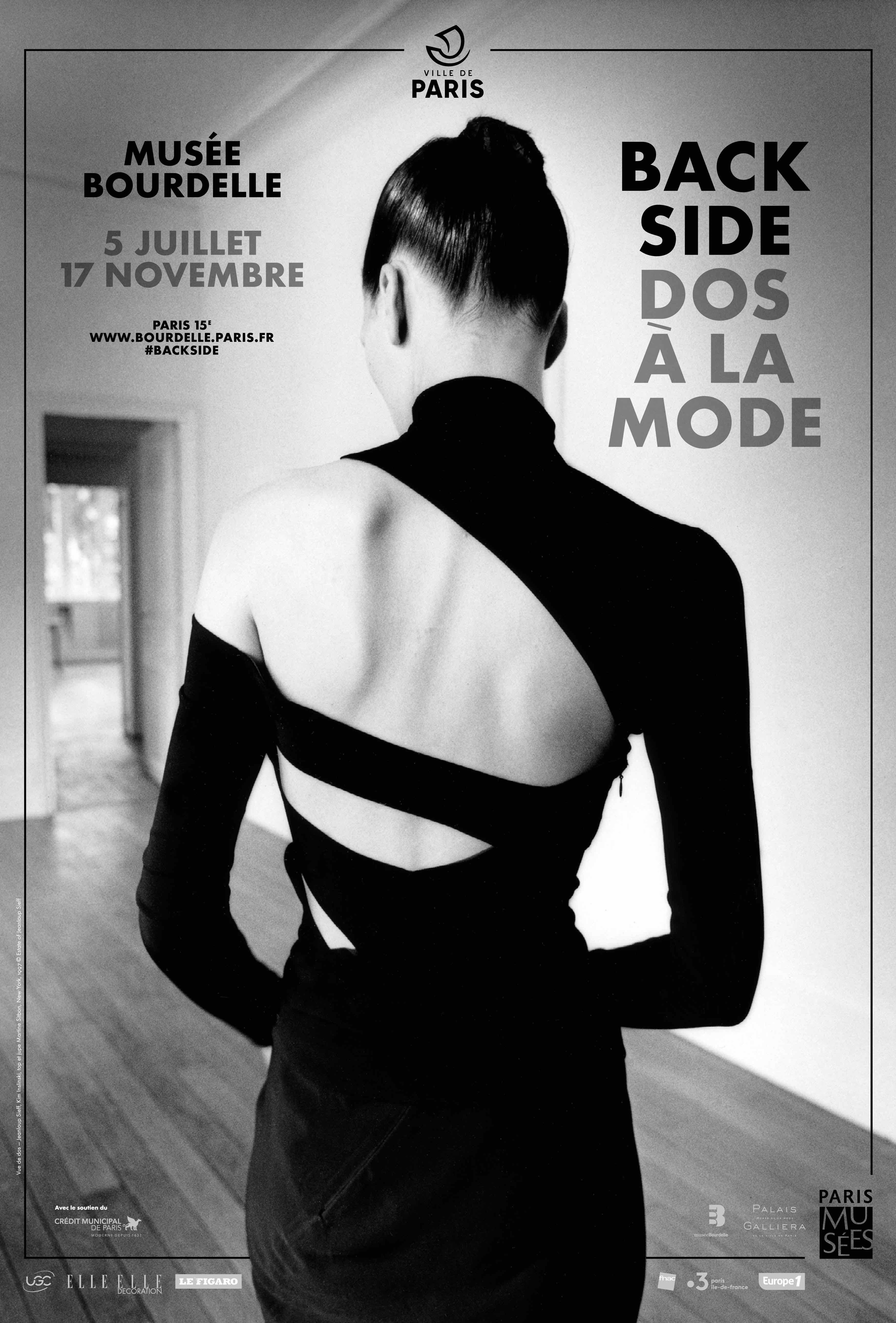 BACK SIDE - Dos à la Mode : Show at Musée Bourdelle opens on 5th July.