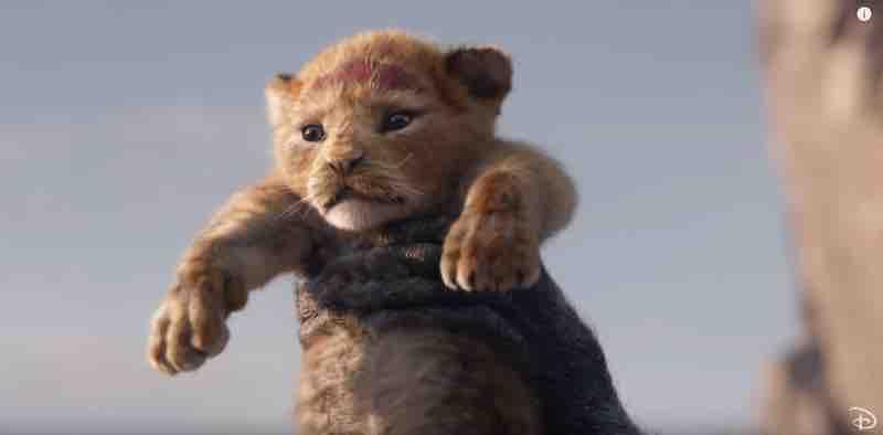 Le Roi Lion © capture d'écran - Disney.