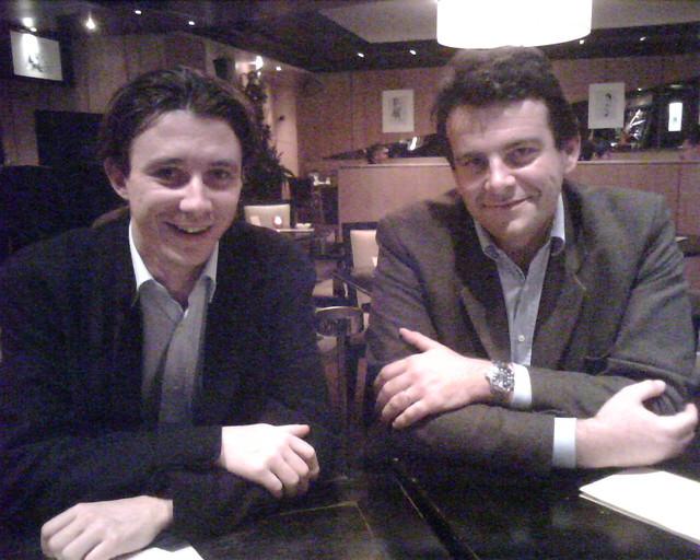 Benjamin Griveaux et Thiery Solère © Loic Le Meur le 13 novembre 2006 CC BY-NC-SA 2.0