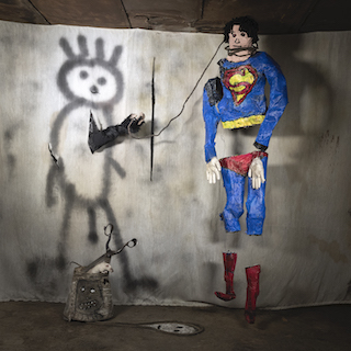 Superman, 2018 © Roger Ballen
