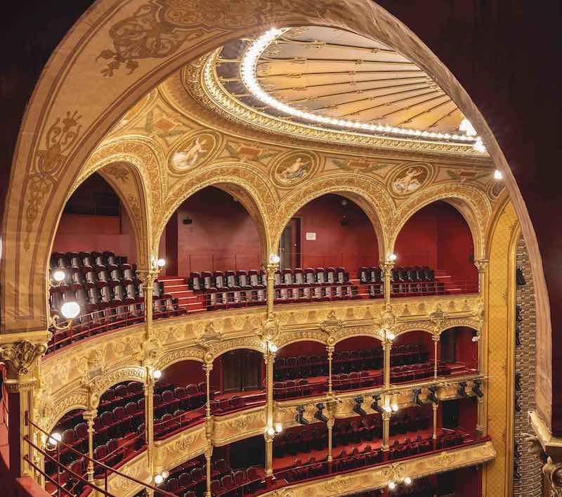 La salle de théâtre rénovée © Théâtre du Châtelet