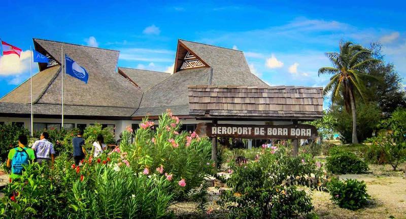 L'aéropot de Bora-Bora © Michelle Maria