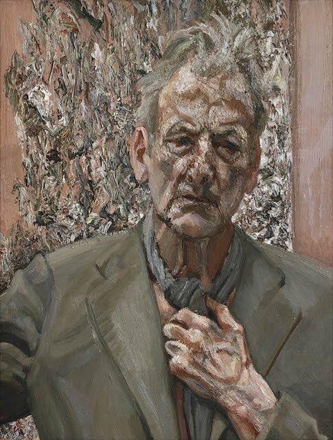 Self-portrait, Reflection, 2002, oil on canvas, 66x50,8 cm, private collection. ©The Lucian Freud Archive/Bridgeman Images