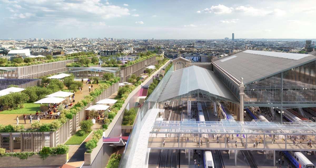 Le projet de la Gare du Nord a été approuvé en 2018 © SNCF associé à Ceetrus (Groupe Auchan) accompagné de l'architecte Denis Valode (Valode et Pistre architectes).
