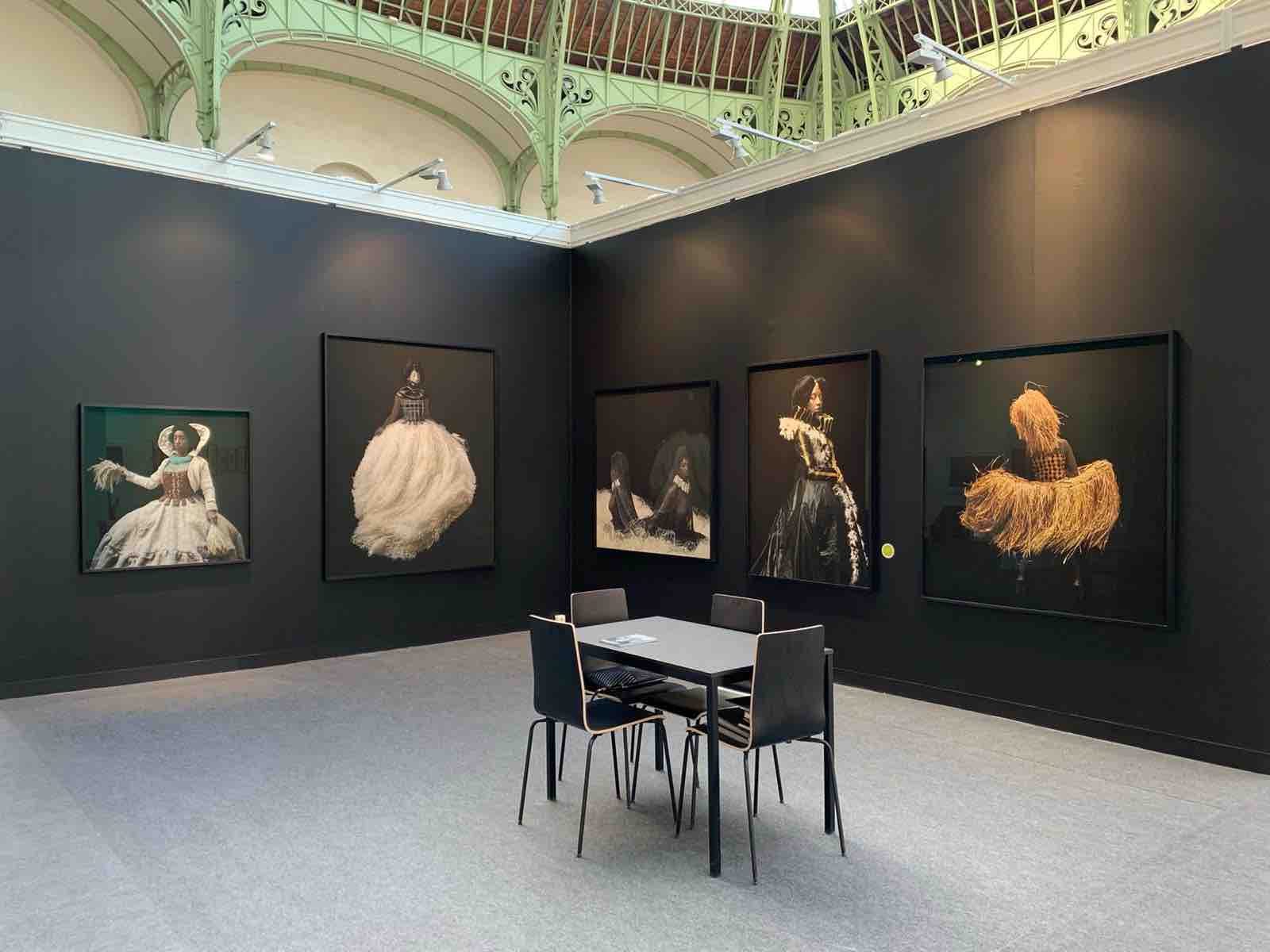Installation Gallery Mariane Ibrahim, Paris Photo 2019 © Photos Ayana V. Jackson and Gallery Mariane Ibrahim Chicago