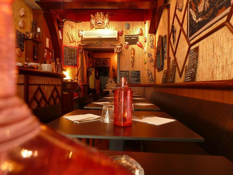 Interior Restaurant Indonesia, Vaugirard, Paris©Restaurant Indonesia Paris