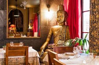 Interior Restaurant Djakarta Bali, Rue Vauvilliiers, Paris©Restaurant Djakarta Bali, Paris