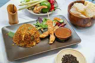 Traditional sate dish restaurant Djakarta Bali, Paris©Djakarta Bali, Paris