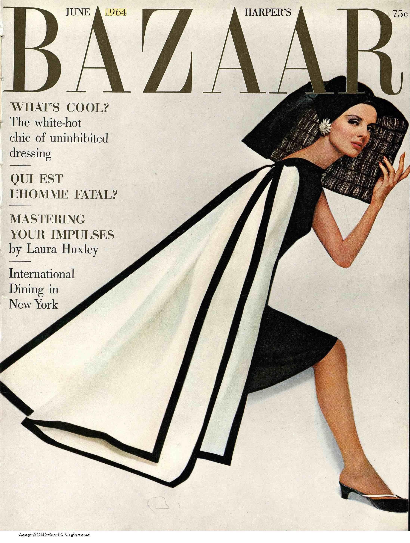 Cover June 1964 © Hiro for Harper's Bazaar