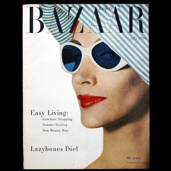 Cover July 1958 © Gleb Derujunzky for Harper's Bazaar