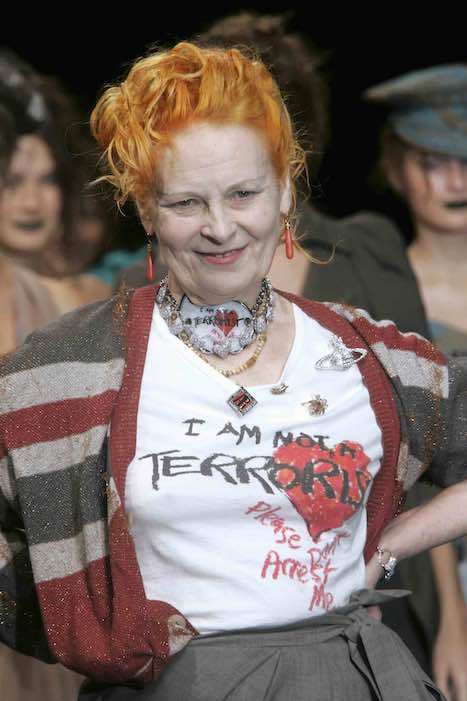 V.Westwood, 'Active Resistance' SS 2006, Paris©Guy Marineau