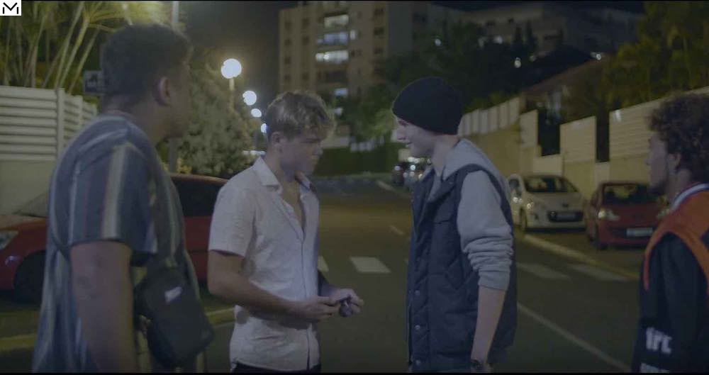 Prize of the best short film was awarded ex aequo to 'About Last Night' by Lucas Claeyssen, New Caledonia©FIFO 2021