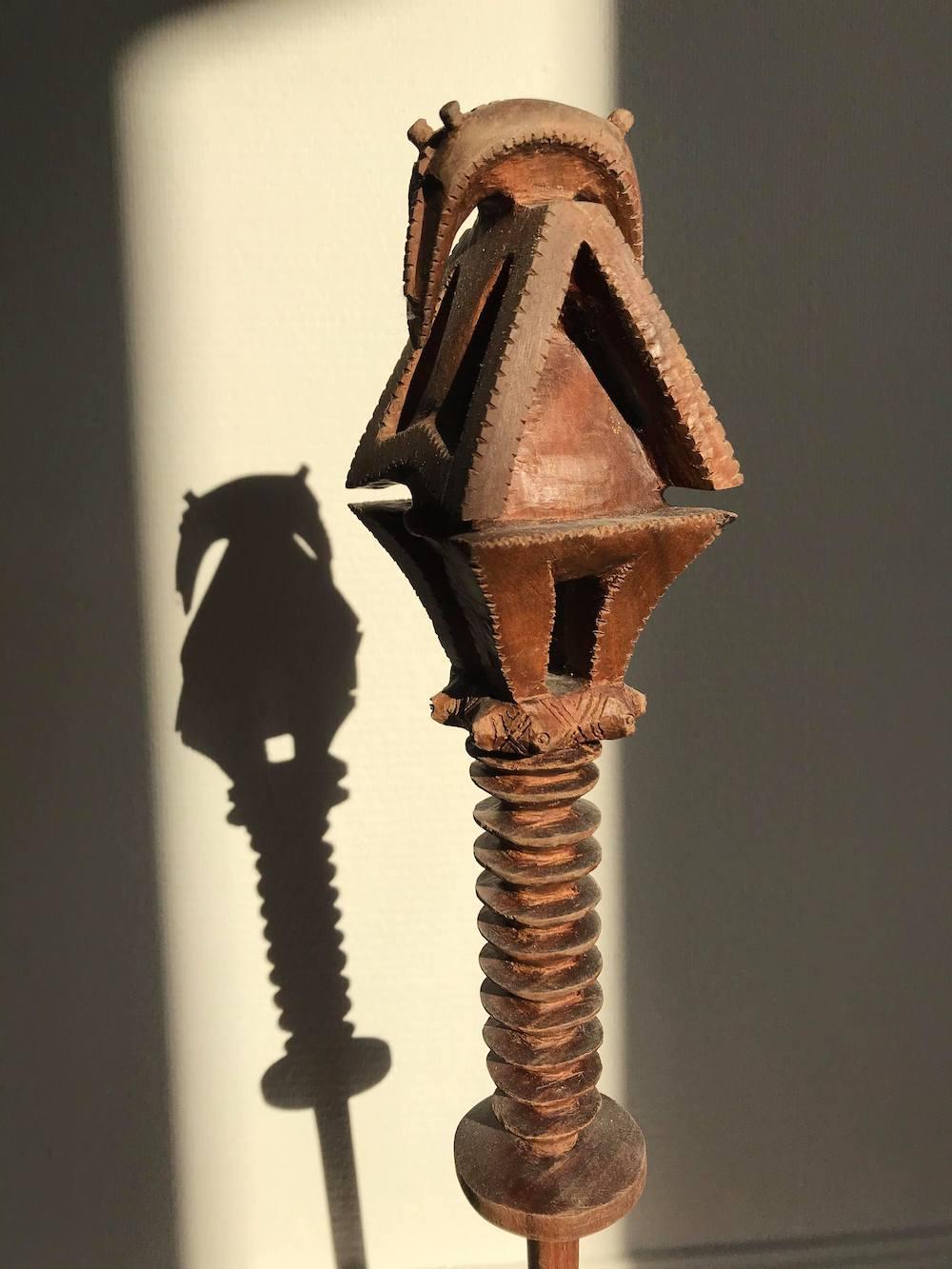Un TO'O réalisé au Centre des Métiers d'Art de Polynésie française.