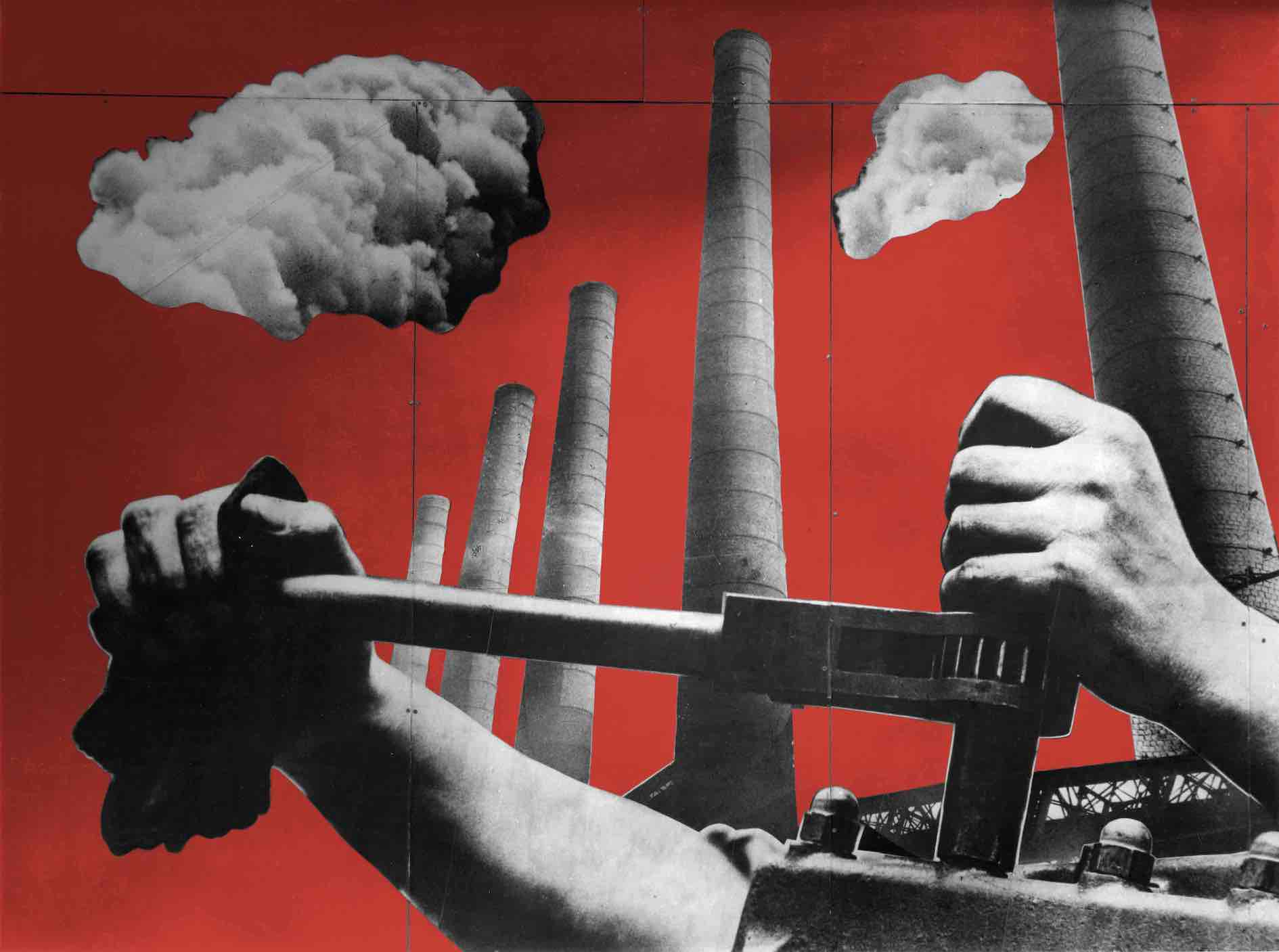 Charlotte Perriand, Fernand Léger, photomontage for the Ministery of Agriculture pavilion, International Exhibition of Art and Technology in Modern Life, Paris 1937©Charlotte Perriand Archives