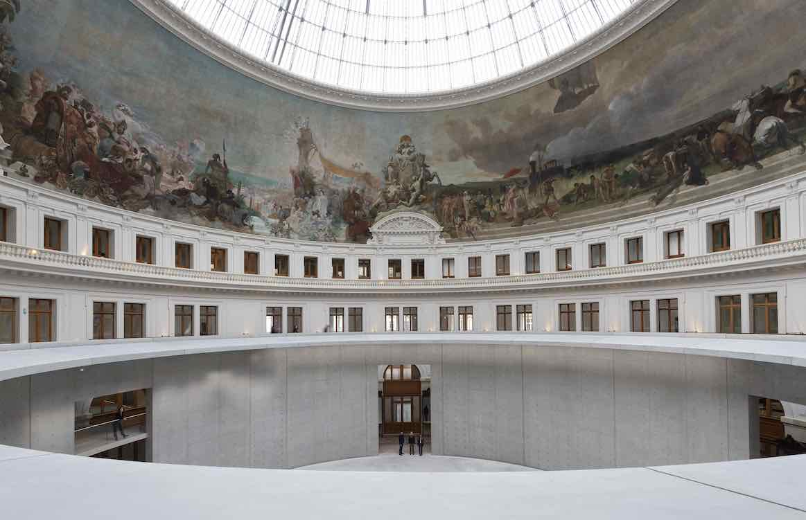 Interior view of renovated Bourse de Commerce - Pinault Collection, September 2020©Tadeo Ando architect&associates,Niney&Marca architects, Agence Pierre-Antoine Gatier, photo  Marc Domage