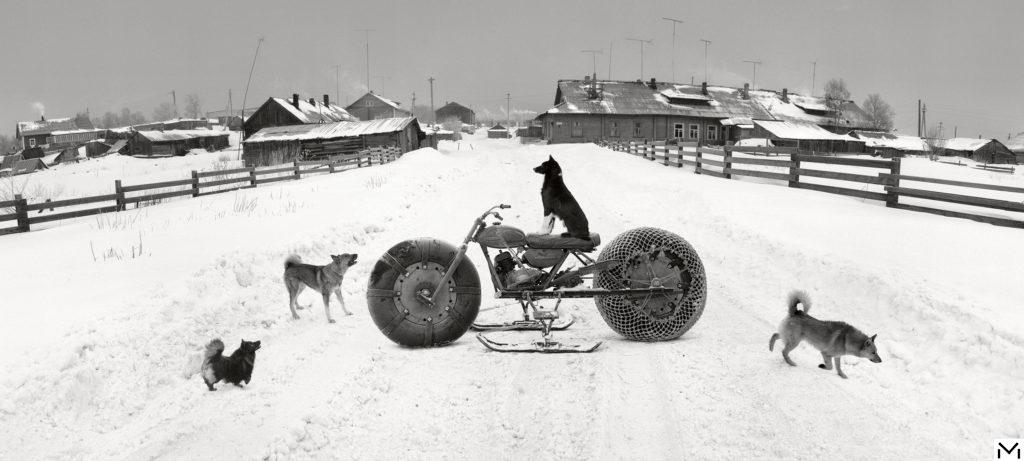 Here in the Distance.Solovski.White Sea, Russia 1992©Penti Sammallahti, courtesy Galerie Camera Obscura