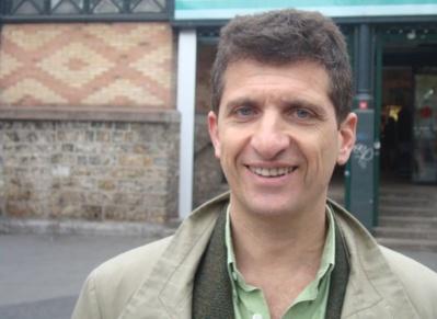 Serge Federbusch pendant la campagne des législatives en 2012 © VD/PT.