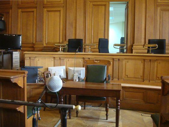Salle d'audience de la chambre de la presse - Photo : VD.