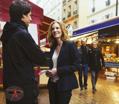 La photo choisie pour la campagne de Nathalie Kosciusko-Morizet.
