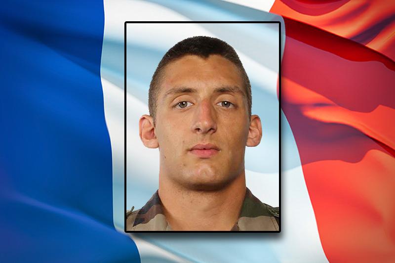 Opération SANGARIS - Décès du soldat de première classe Antoine LE QUINIO, 22 ans - Crédit : Sirpa Terre.