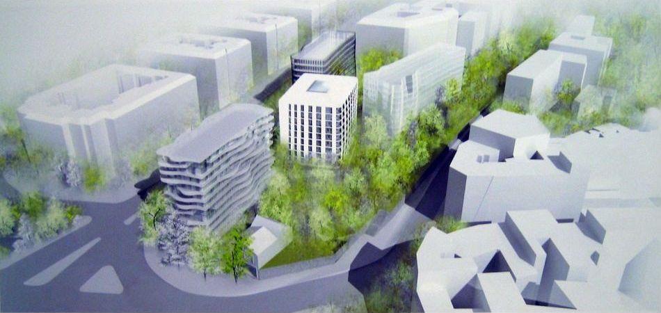 Projet immobilier de la Gare d'Auteuil - Crédit : Anne Demians Architecte.