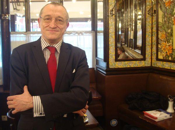 Paul Marie Coûteaux, un habitué de la Brasserie Lipp - Photo : VD.